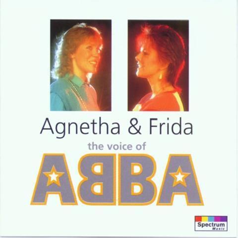 cd cantoras do abba (agnetha & frida) importado  mamma mia