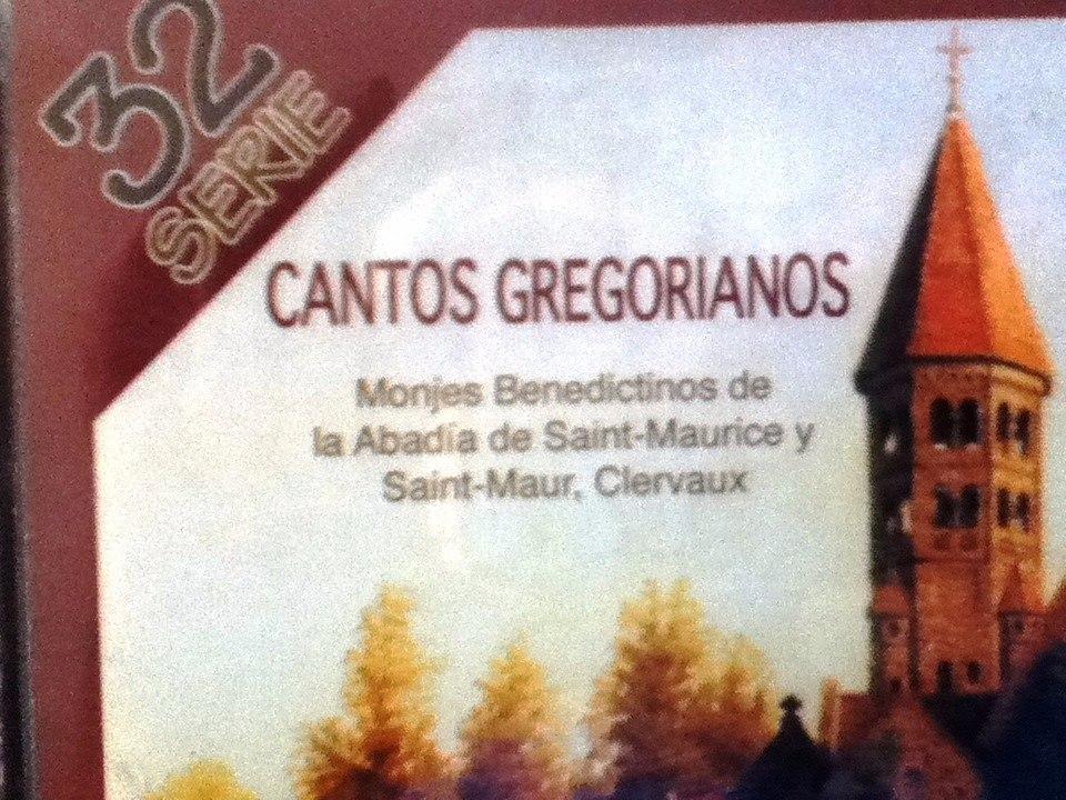 cds de cantos gregorianos