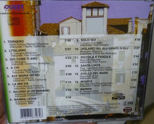 cd  canzoni d' amore -  novo e lacrado   -   - b305