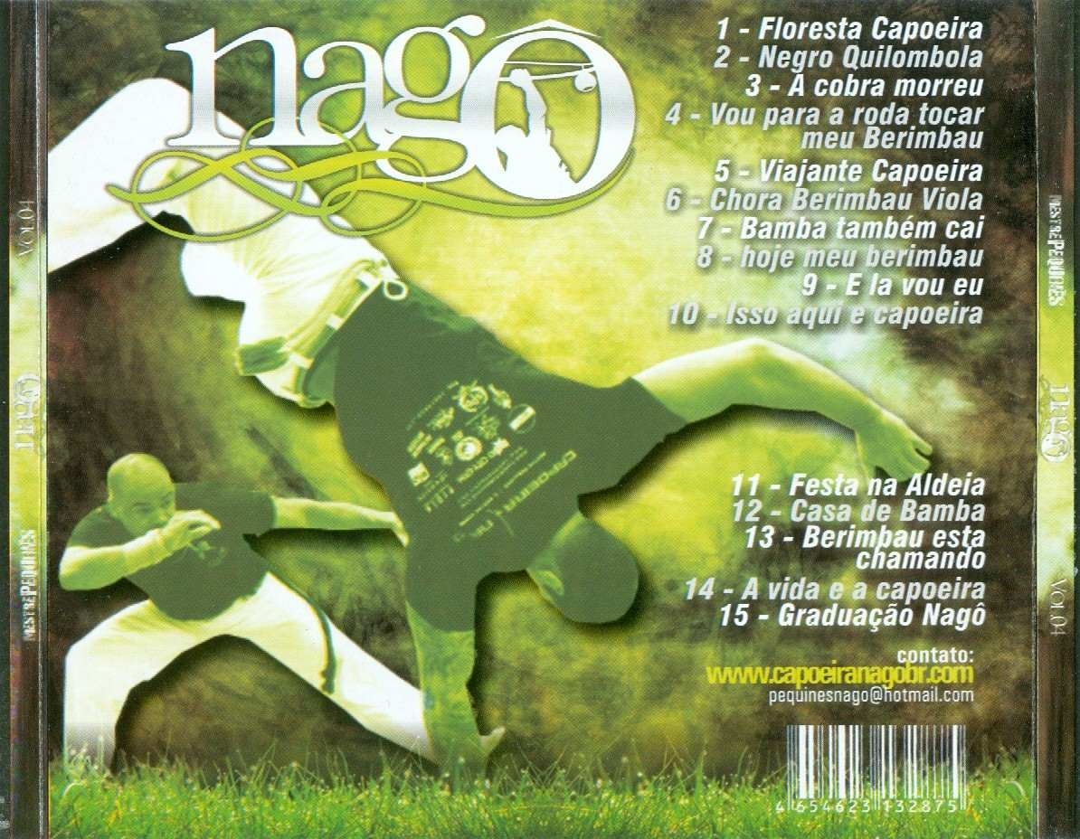 cd capoeira nago vol.1