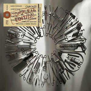 cd carcass surgical steel complete edition (bonus tracks)