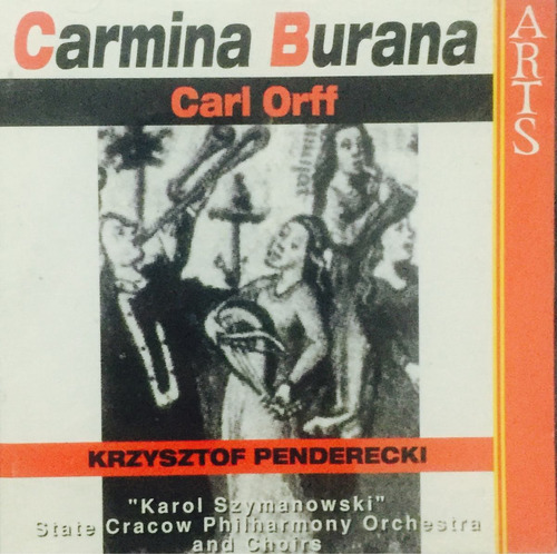 cd carl orff carmina burana  krzysztof penderecki