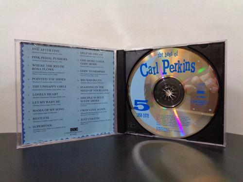 cd carl perkins - the best of 1958-1978 + bonus (rhino usa)