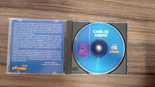 cd carlos andré 20 super sucessos