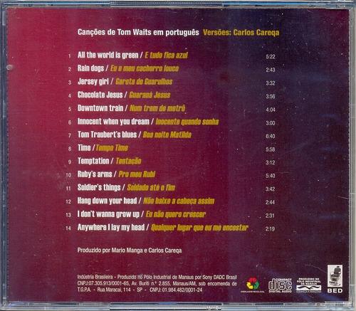 cd carlos careqa - à espera de tom - 2008 - lacrado