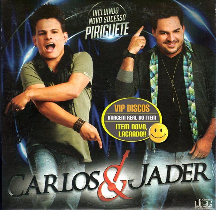 novo cd carlos e jader 2012