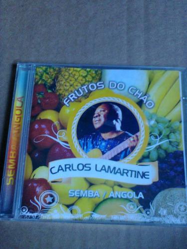 cd carlos lamartine frutos do chão semba/angola