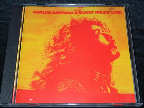 cd carlos santana & buddy miles live