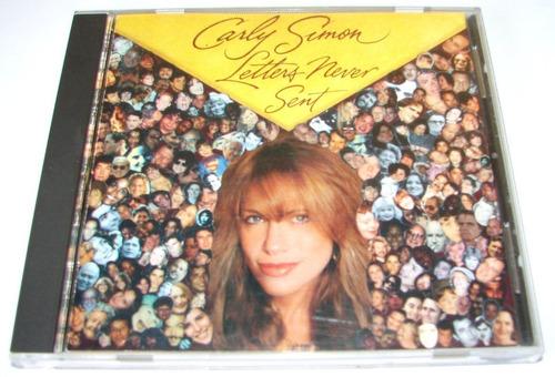 cd carly simon letters never sent produto lacrado