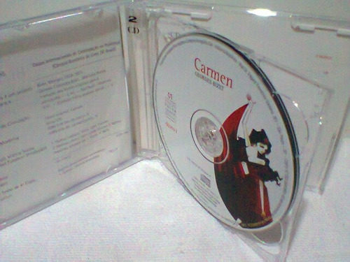 cd carmem (bizet) @ coleção folha   =duplo=