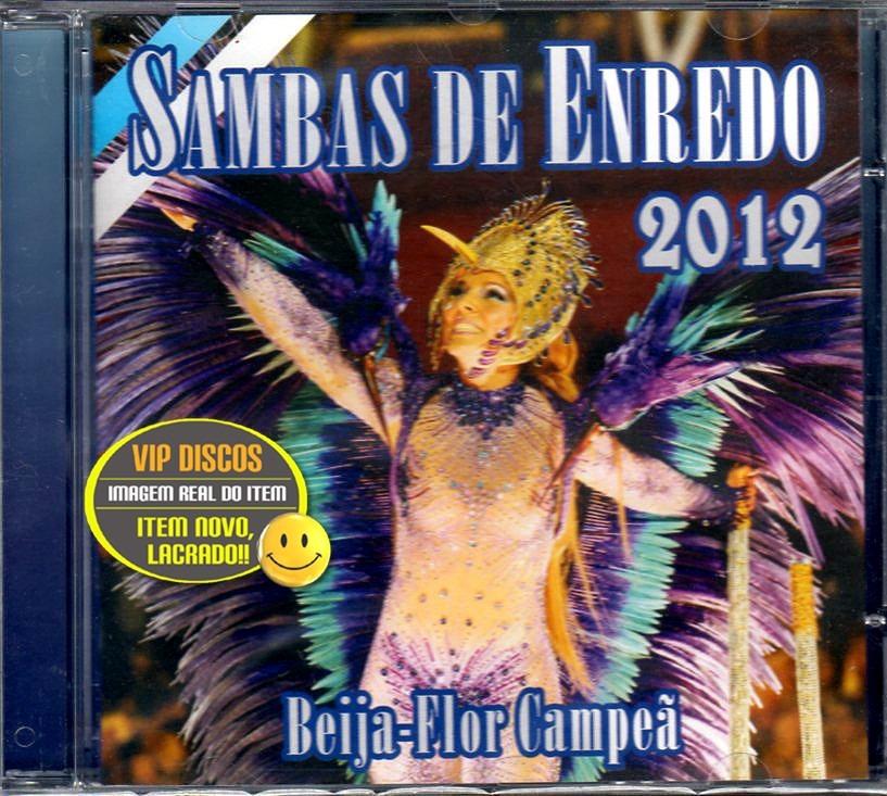 cd sambas enredo rio 2012