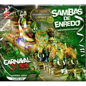 Cd Carnaval Sambas De Enredo 2020 São Paulo Duplo - Lacrado!