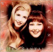 cd carnie wilson and wendy hey santa! - importado