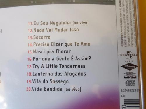 cd cassia eller / 20 músicas para uma nova era / novo