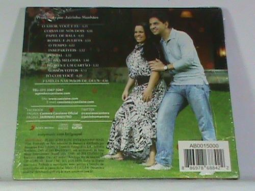 cd - cassiane e jairzinho -o  amor está no ar (novo-lacrado)