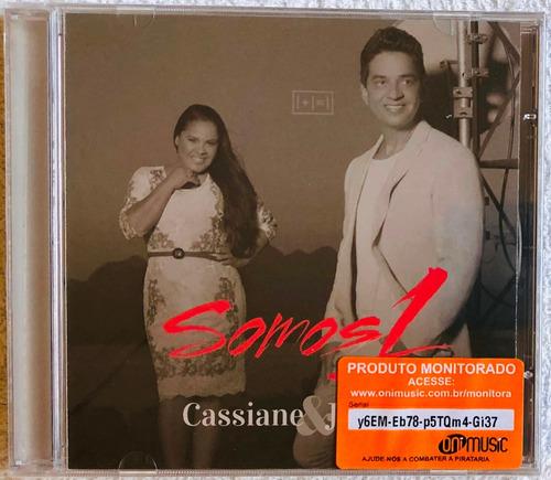 cd cassiane & jairinho - somos 1 (2014) * lacrado * original