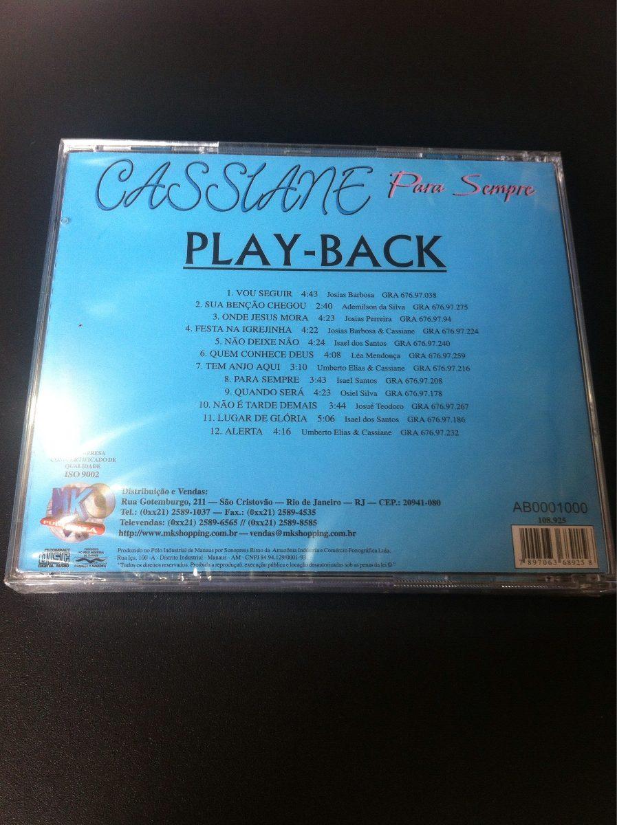 playback cassiane para sempre