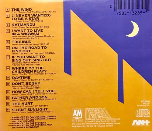 cd cat stevens footsteps in the dark greatest hits vol 2 imp