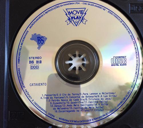 cd catavento - música popular brasileira-ano 1991 -original.