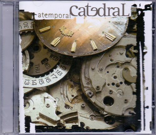 cd catedral - atemporal - novo***