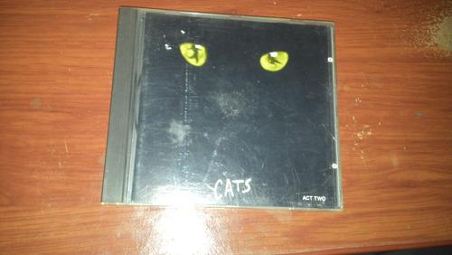 cd: cats act two importado japonês