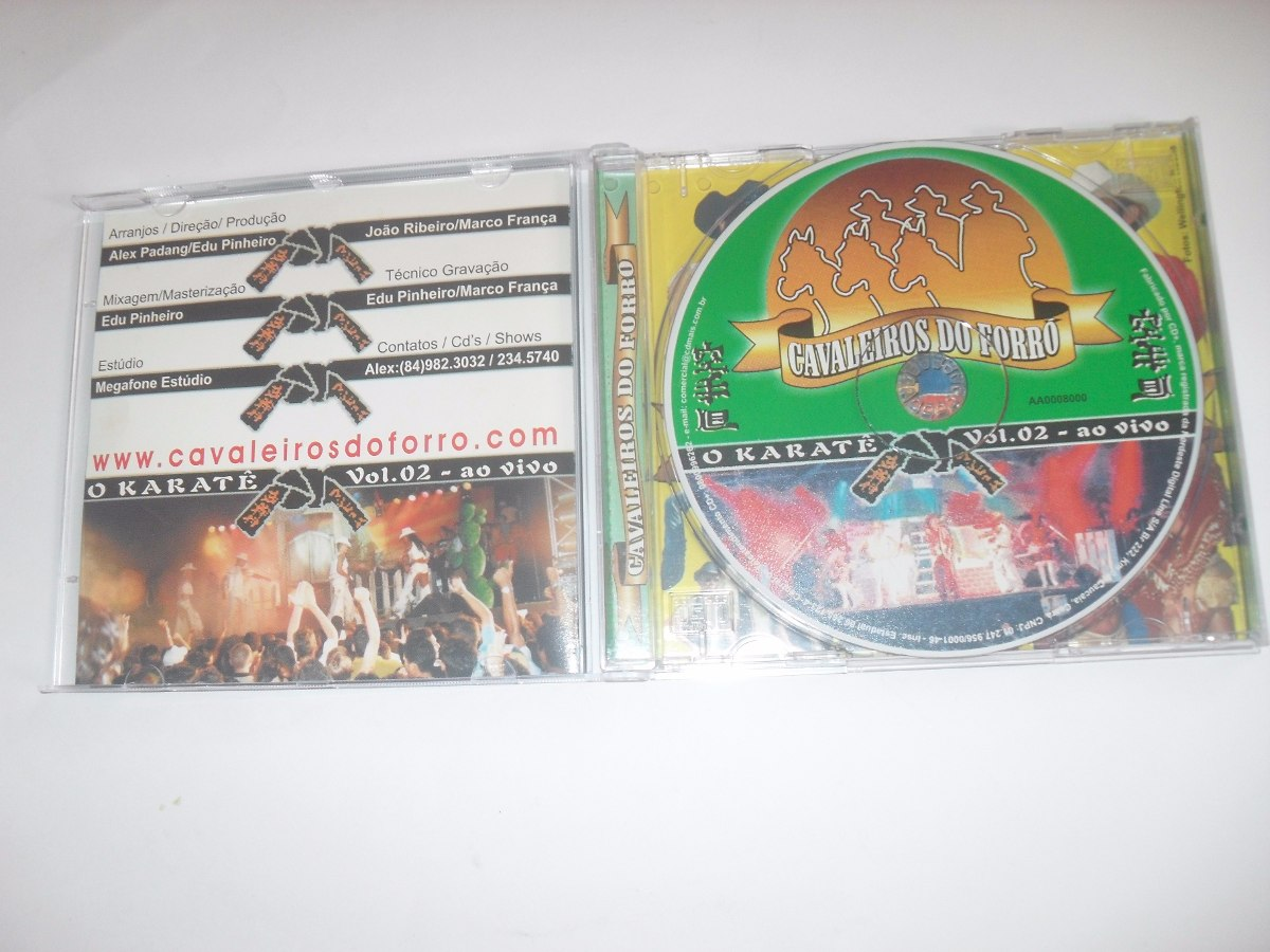 cd cavaleiros do forro 2003