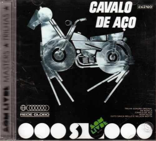 cd - cavalo de aço - trilha sonora da novela - lacrado