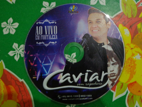 cd caviar com rapadura 2015 - promocional