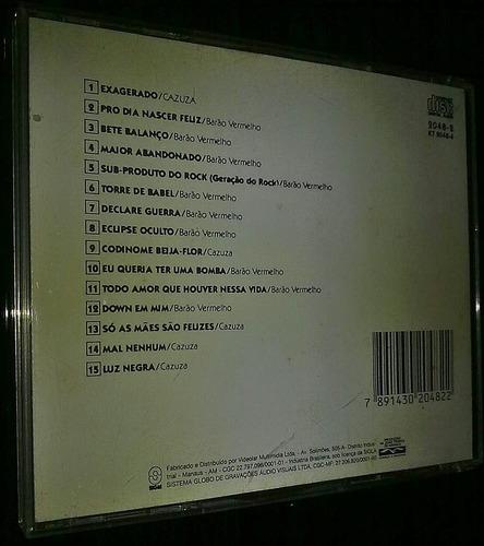 cd-cazuza  barão vermelho incluindo