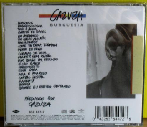 cd cazuza burguesia lacrado raro mpb rock pop