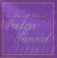 cd cd fudge tunnel in a word fudge tunnel