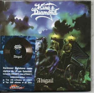 cd cd king diamond abigail ( hard king diamond