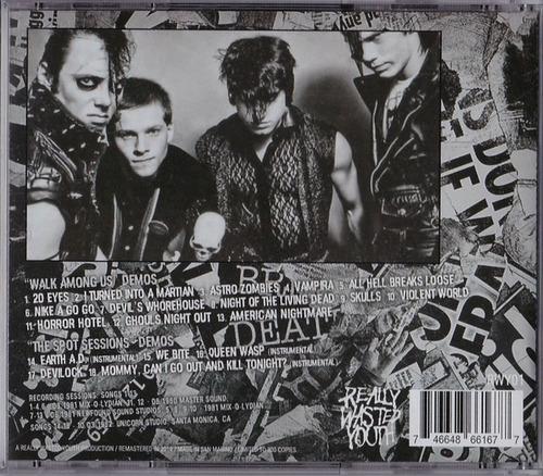 cd cd misfits walk among us and t misfits