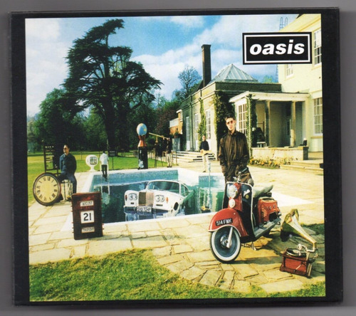cd cd oasis be here now remastere oasis