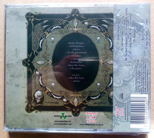 cd cd paradise lost obsidian ( 2  paradise lost