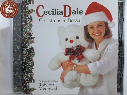 cd cecilia dale christimas in bossa - ganha caixa - b8