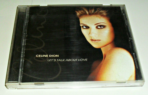 cd celine dion / let´s talk about love