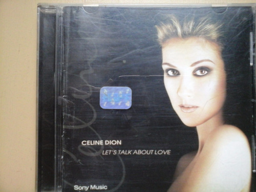 cd celine dion let´s talk about love excelente estado