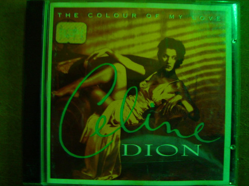 cd celine dion the colour of my love