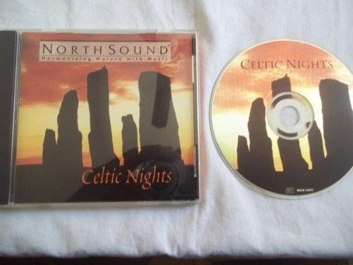 cd - celtic nights - rock pop internacional