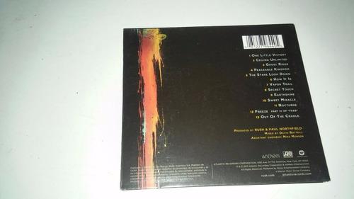 cd cerrado rush - vapor trails remixed