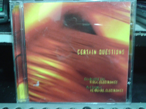 cd - certain questions - charlotte hug and pat thomas