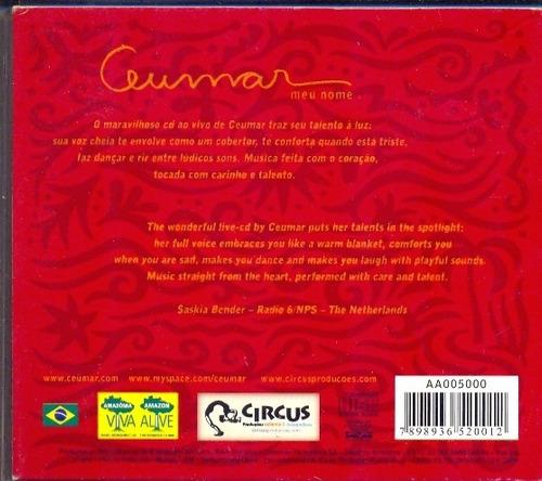 cd ceumar - meu nome - live in são paulo - 2009