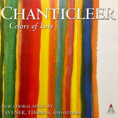 cd chanticleer and steven stucky colors of love importado