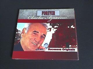 cd charles aznavour  forever  (original) capa digipack