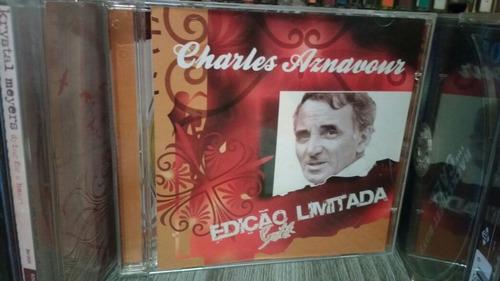 cd charles aznavour - gold edição limitada