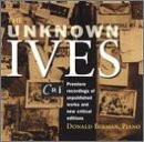 cd charles ives - donald berman - the unknown ives