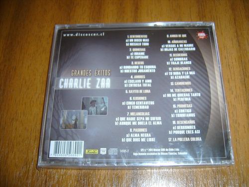 cd charlie zaa / grandes exitos (nuevo y sellado)