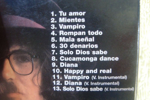 cd charly garcia pedro aznar tango - 4  digipack sku 034