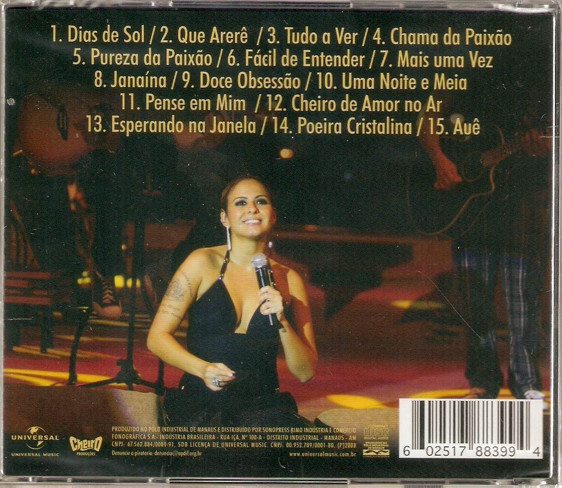 cd cheiro de amor acustico 2008